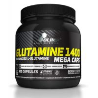 Glutamine 1400 mg - 300 mega capsules- Buy Online at MOREmuscle