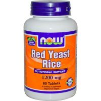 Extrait de Red Yeast Rice 1200mg - 60 tabs - Faites vos achats online sur MASmusculo