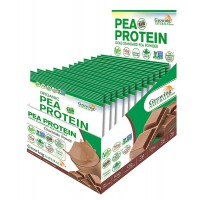 Pea protein isolate 12 x 34g- Buy Online at MOREmuscle