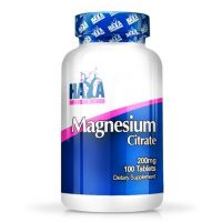 Magnesium citrate 200mg - 100 tabs - Compre online em MASmusculo