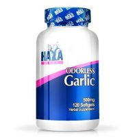 Odorless garlic 500mg - 120 softgels - Haya Labs