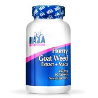 Horny goat weed + maca 750mg - 90 tabs - Faites vos achats online sur MASmusculo