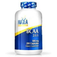 Bcaa 2:1:1 500mg - 200 caps - Haya Labs