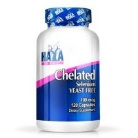 Chelated selenium yeast free 100mcg - 120 caps - Compre online em MASmusculo