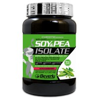 Soy & pea isolate - 1kg - Beverly Nutrition