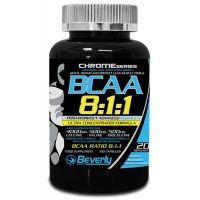 BCAA 8:1:1 - 100 cápsulas [Beverly] - Beverly Nutrition