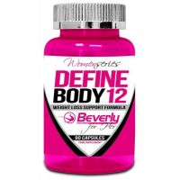 Define Body 12 envase de 90 cápsulas del fabricante Beverly Nutrition for Her (Termogénicos)