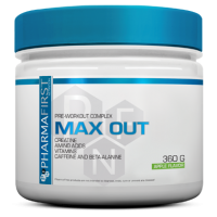 Max out pre-workout - 360g - PharmaFirst
