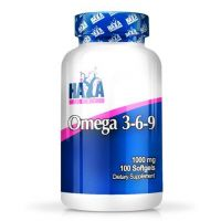 Omega 3-6-9 1000mg - 100 softgels - Haya Labs