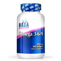 Omega 3-6-9 1000mg - 200 softgels - Haya Labs
