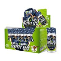 Shot & go! energy - 20 vials - Total Energy Sport