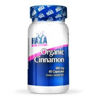 Organic cinnamon 500mg - 60 caps- Buy Online at MOREmuscle