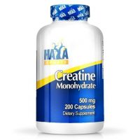 Creatine monohydrate 500mg - 200 caps - Haya Labs