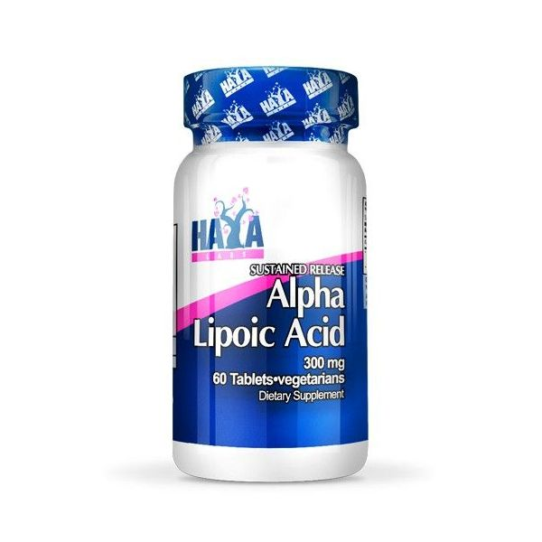 Alpha lipoic acid 300mg - 60 tabs