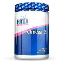 Omega 3 1000mg envase de 500 softgels de Haya Labs (Fuente Animal)