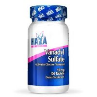 Sulfato de Vanadio 10mg - 100 tabletas [haya labs] - Haya Labs