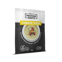 Protein gusto cheese soup - 30g - Faites vos achats online sur MASmusculo