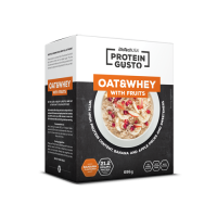 Oat & whey with fruits protein gusto - 696g - Biotech USA