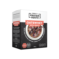 Oat & whey with fruits protein gusto - 696g