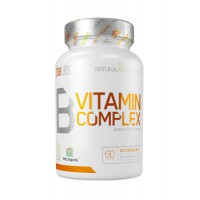 B vitamin complex - 60 caps- Buy Online at MOREmuscle
