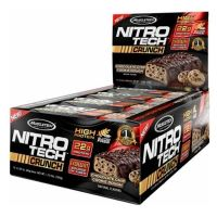 Nitrotech crunch bar - 65g - Muscletech