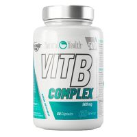 Complejo de Vitamina B 500mg - 60 cápsulas [Natural Health]