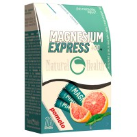 Magnesio Express 400mg - 16 sticks [Natural Health]- Compra online en MASmusculo