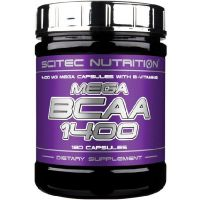 Mega bcaa 1400 - 180 caps- Buy Online at MOREmuscle