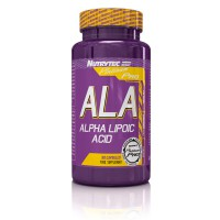 ALA Alpha Lipoic Acid - 90 capsules- Buy Online at MOREmuscle