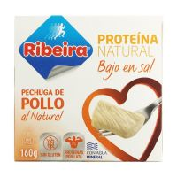 Low salt natural chicken breast - 160g - Ribeira
