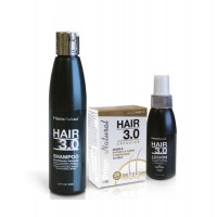 Hair 3.0 hair loss treatment plus (shampoo+lotion+caps) - Compre online em MASmusculo