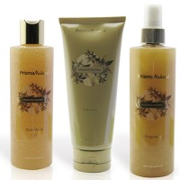 Dressing case radiant fantasy (body cream+fragrance+bath gel)