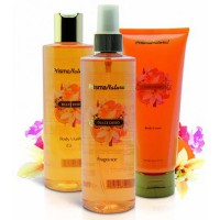Dressing case sweet desire (body cream+fragrance+bath gel)