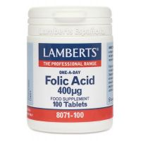Folic acid - 100 tabs