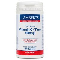 Vitamin c 500mg with bioflavonoids (sustained release) - 100 tabs