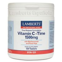 Vitamin c 1500mg with bioflavonoids (sustained release) - 120 tabs