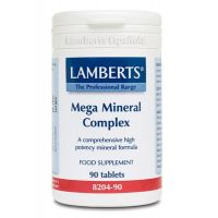 Mega mineral complex - 90 tabs- Buy Online at MOREmuscle