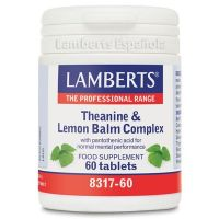 Theanine lemon balm complex - 60 tabs
