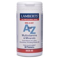 A-Z multivitamins and minerals - 60 tabs