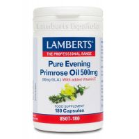 Pure evening primrose oil - 180 caps - Kaufe Online bei MOREmuscle
