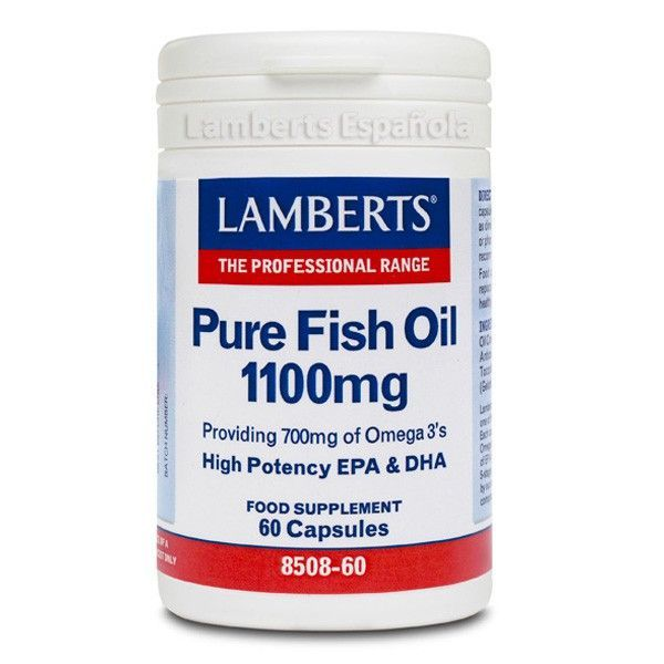Pure fish oil - 60 caps