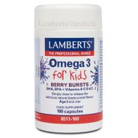 Omega 3 for kids - 100 caps - Lamberts