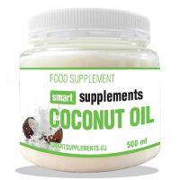 Organic coconut oil - 500ml - Smart Supplements