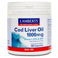 Cod liver oil - 180 caps - Kaufe Online bei MOREmuscle