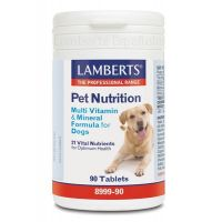 Pet nutrition (multi vitamin and mineral for dogs) - 90 tabs - Lamberts