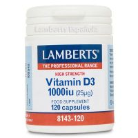 Vitamin D3 1000IU - 120 Caps