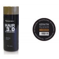 Hair 3.0 building fibers medium brown - Faites vos achats online sur MASmusculo