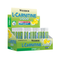 L-carnitine liquid - 20 vials x 25ml