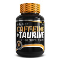 Caffeine + taurine - 60 caps- Buy Online at MOREmuscle
