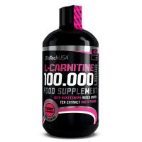 L-Carnitina 100.000 - 500ml [BiotechUSA] - Biotech USA
